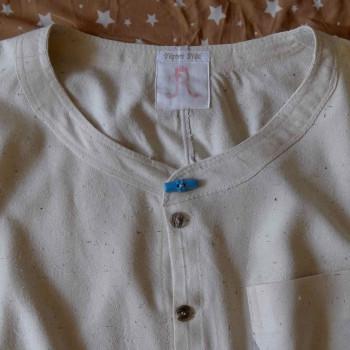 Hemd aus Bouretteseide