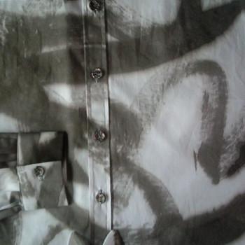 Handbemaltes Hemd | Detail 1