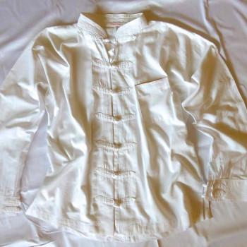 Hemd mit aufknöpfbaren Ärmeln